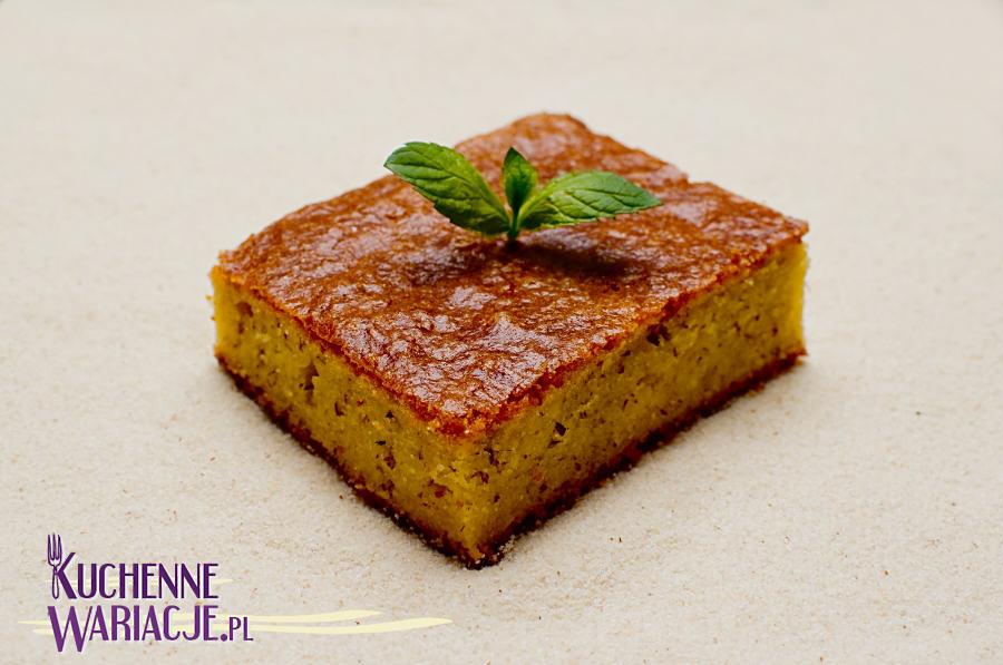 Pyszne ciasto egipskie Basbusa Babusa