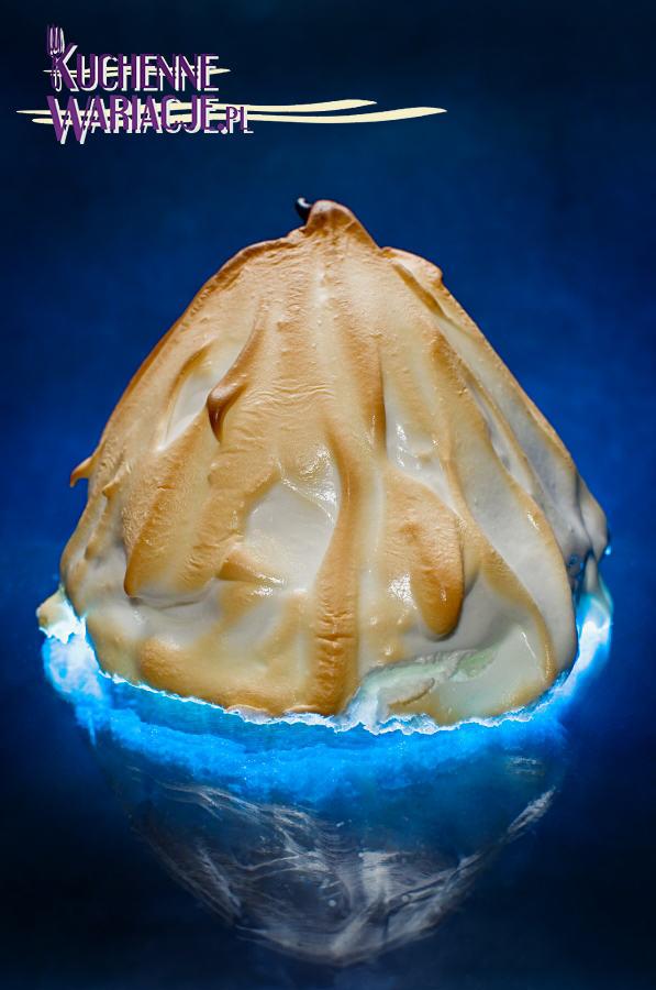 Deser pieczona lodowa Arktyka