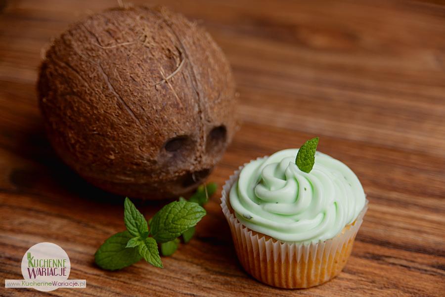 Muffinki kokosowo miętowe