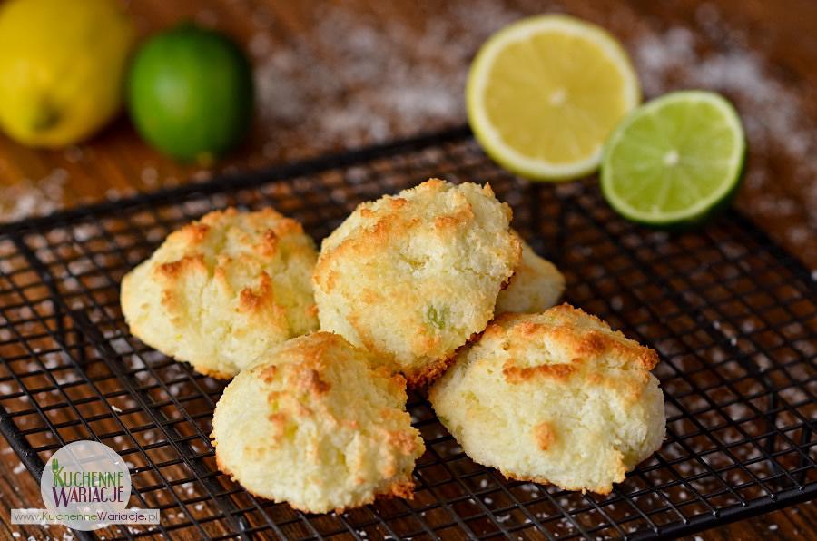 Kokosanki cytrynowo-limonkowe