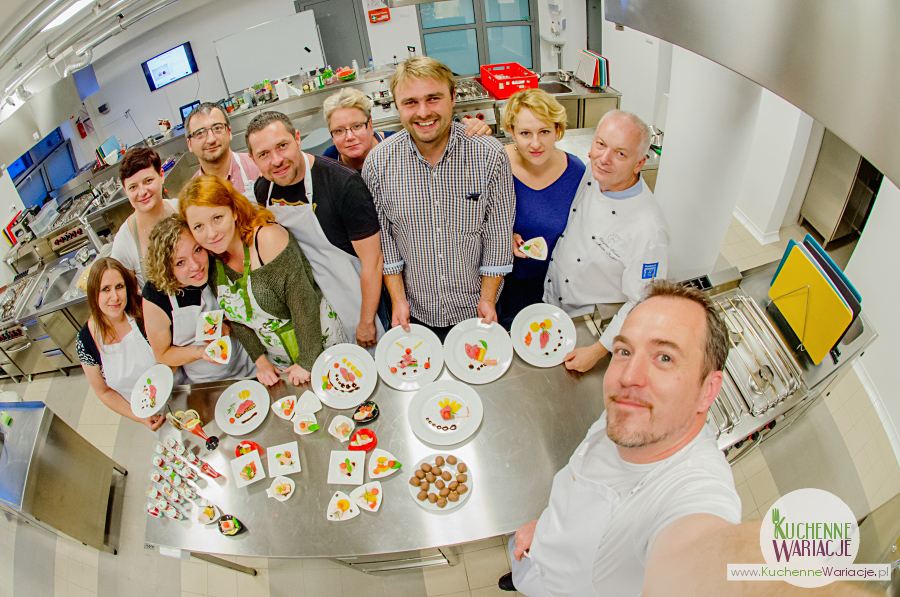 Fotoreportaż: warsztaty kuchni molekularnej