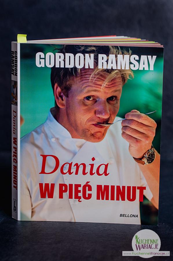 """Recenzja książki: """"Dania w 5 minut"""" Gordona Ramsay'a"""