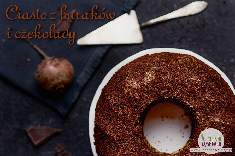 Dekadenckie ciasto z buraków i czekolady