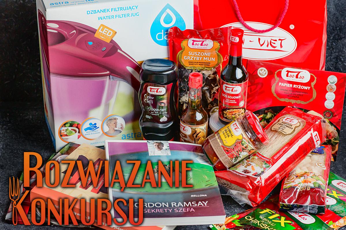 Rozwiązanie konkurs: 3 urodziny Kuchennych Wariacji