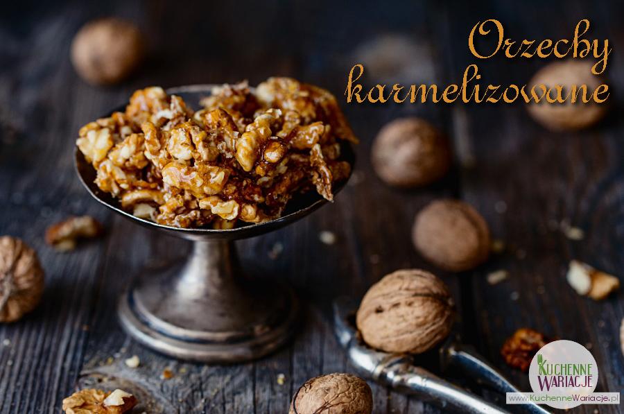 Karmelizowane orzechy włoskie