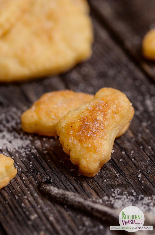 Ciasteczka serowe z wanilią