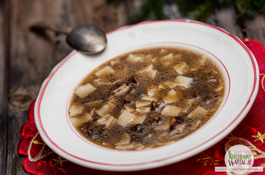 Zupa grzybowa nie tylko na Wigilię