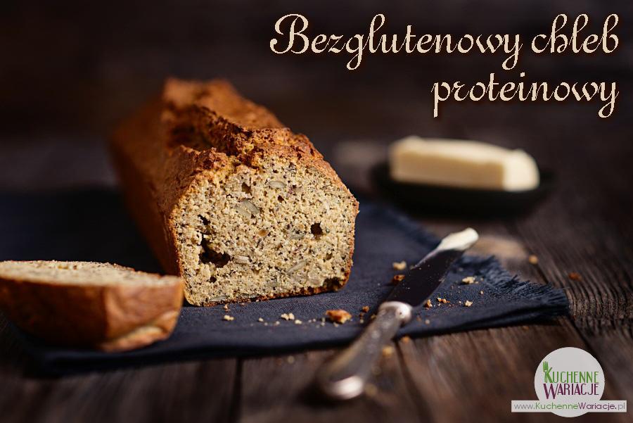Bezglutenowy chleb proteinowy