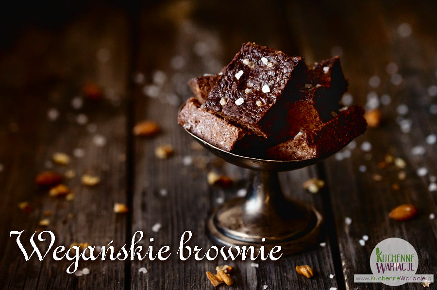 Wegańskie brownie z nasionami chia