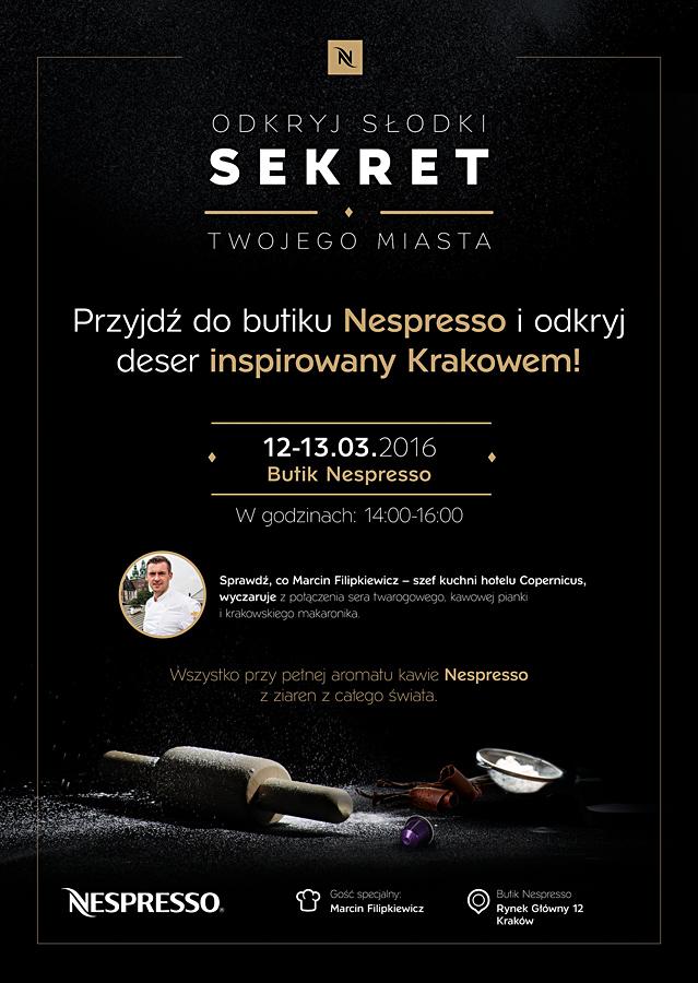Nespresso: Odkryj słodki sekret Krakowa