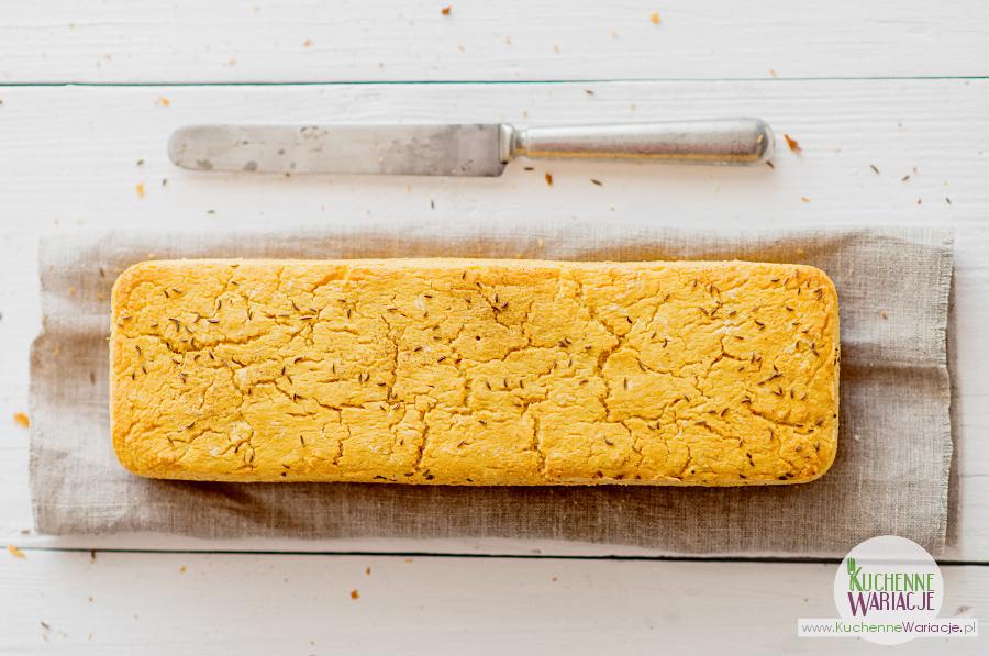 Bezglutenowy chleb kukurydziany