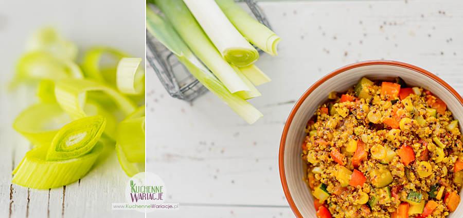Quinoa z warzywami