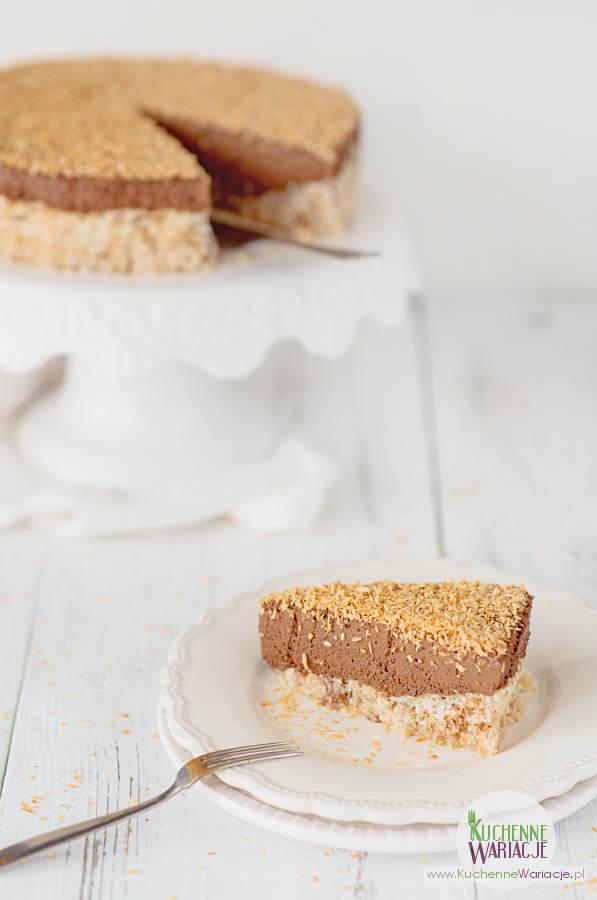 Tort czekoladowo-kokosowy