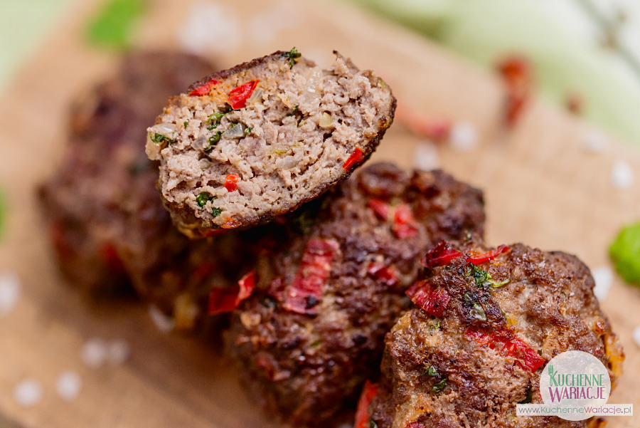 Kotleciki z wołowiny po tajsku