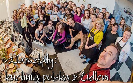 Warsztaty: kuchnia polska z Lidlem i Karolem Okrasą