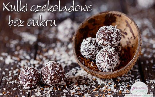 Kulki czekoladowe bez cukru