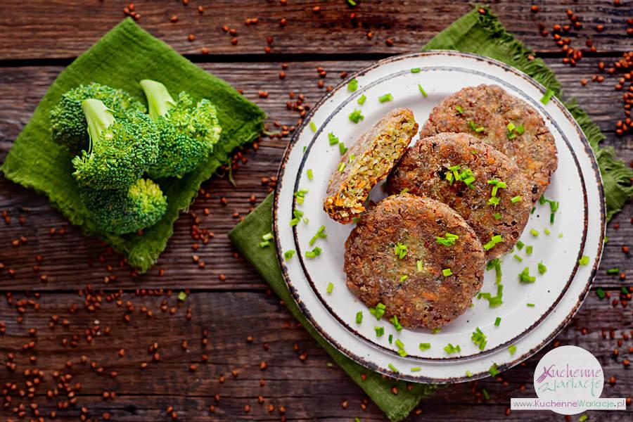 Kotleciki z kaszy gryczanej z warzywami - Kuchenne Wariacje, Sezonowo bezglutenowo