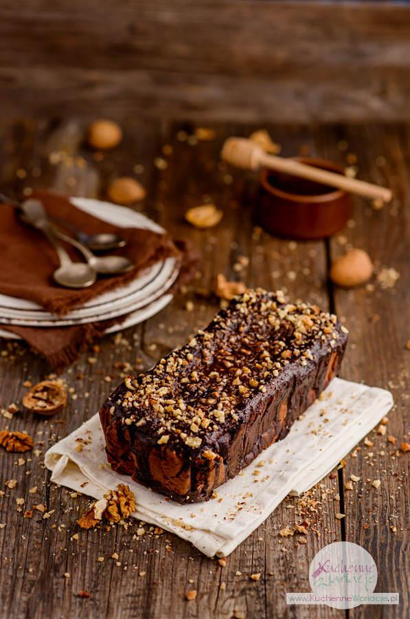 Brownie z czerwonej fasoli z orzechami - Kuchenne Wariacje, Sezonowo Bezglutenowo