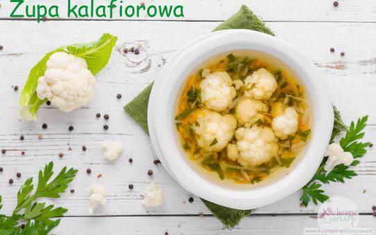 Zupa kalafiorowa (post Dąbrowskiej)