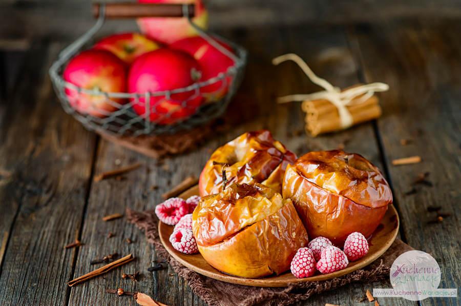 Pieczone jabłka (post Dąbrowskiej) - Kuchenne Wariacje, Sezonowo Bezglutenowo