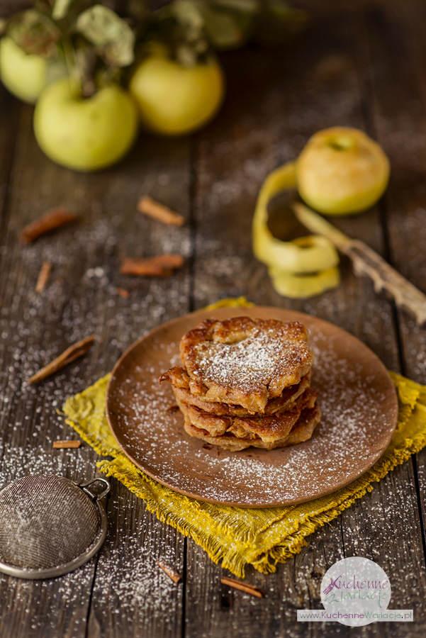 Bezglutenowe racuchy owsiane z jabłkami - Kuchenne Wariacje, Sezonowo Bezglutenowo