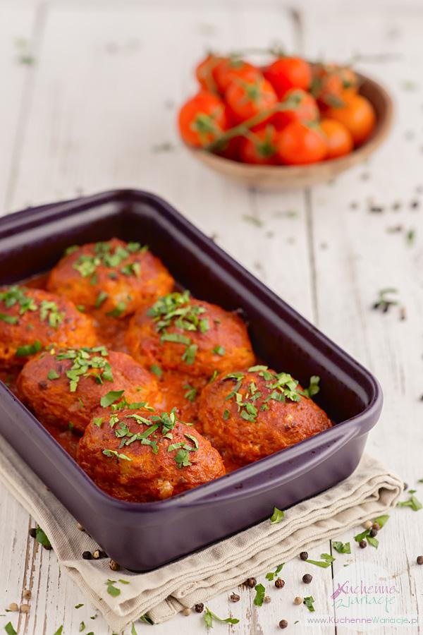 Gołąbki bez zawijania w sosie pomidorowo-porowym - Kuchenne Wariaje, Sezonowo Bezglutenowo