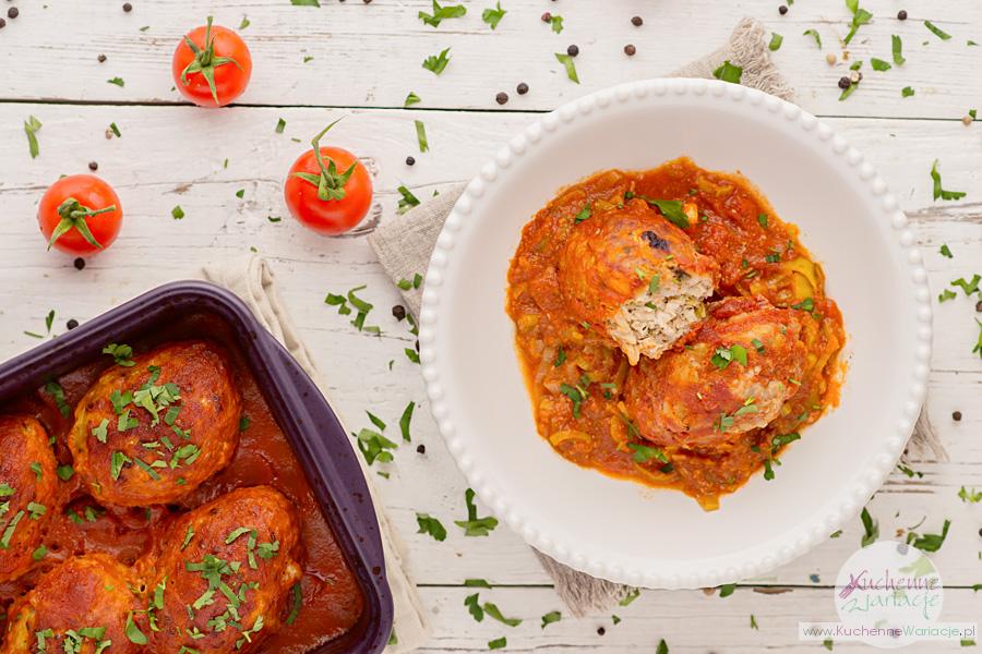 Gołąbki bez zawijania w sosie pomidorowo-porowym - Kuchenne Wariacje, Sezonowo Bezglutenowo