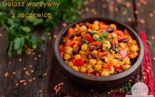Gulasz warzywny z soczewicą (wychodzenie z postu Dąbrowskiej)